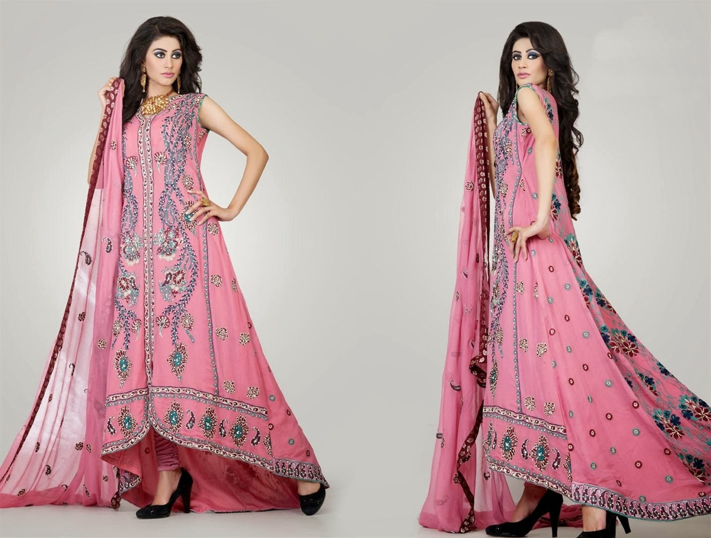 Wearing shalwar kameez can make your every occasion and festival colorful and classy!